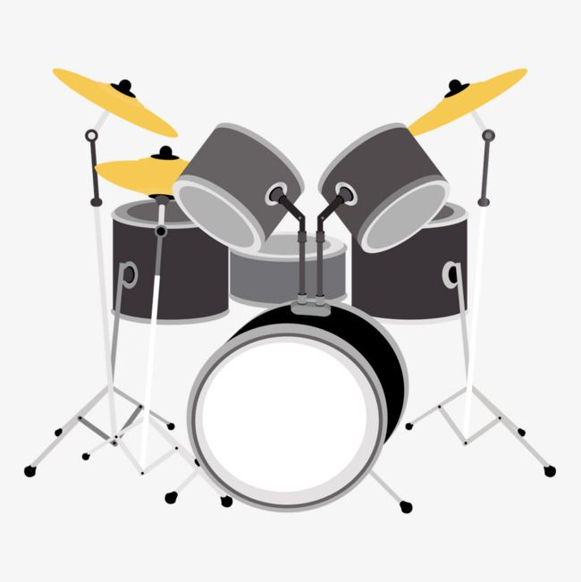 Vector Drums Vector Instrument Shelf Drum Band Png Transparent Clipart Image And Psd File For Free Download Drum Set Drums Clip Art