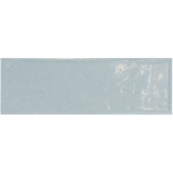 Brick tegel Ash Blue glanzend 7,5 x 15 cm