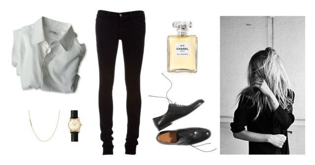 """""""Untitled #180"""" by bittealt ❤ liked on Polyvore featuring J Brand, Margaret Howell and Chanel"""