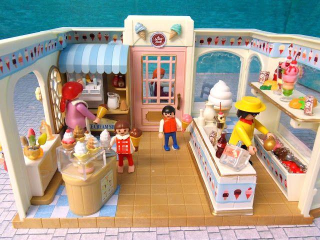 Emma.J's ice cream shop. - PLAYMOBIL Collectors Club