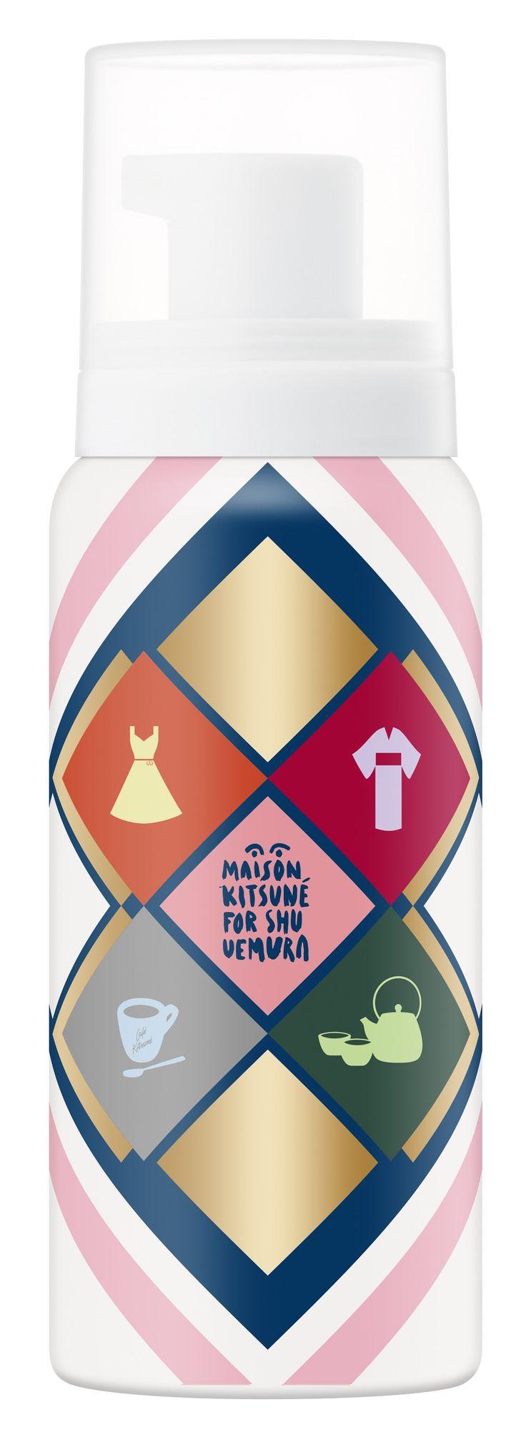 植村秀shu uemura x Maison Kitsuné聯名聖誕彩妝 總監打出角康傳授妝容技巧 | BeautiMode 創意生活風格網