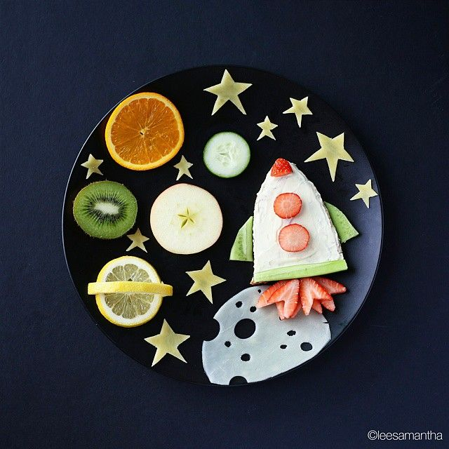 Lo spazio (idee-per-far-mangiare-verdure-ai-bambini) by Samantha Lee