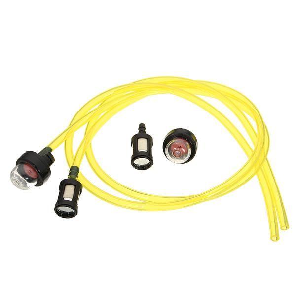 Brush Cutter Trimmer Whipper Fuel Line Hose Primer Bulb For