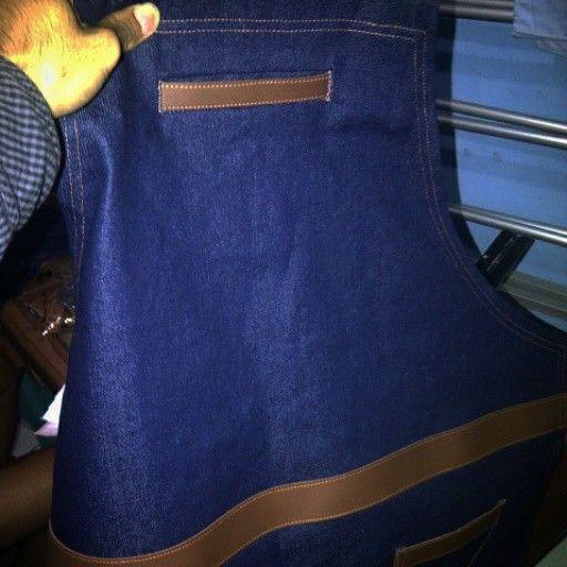 handmade apron barista and apron waitress,,order via WA 081336789121