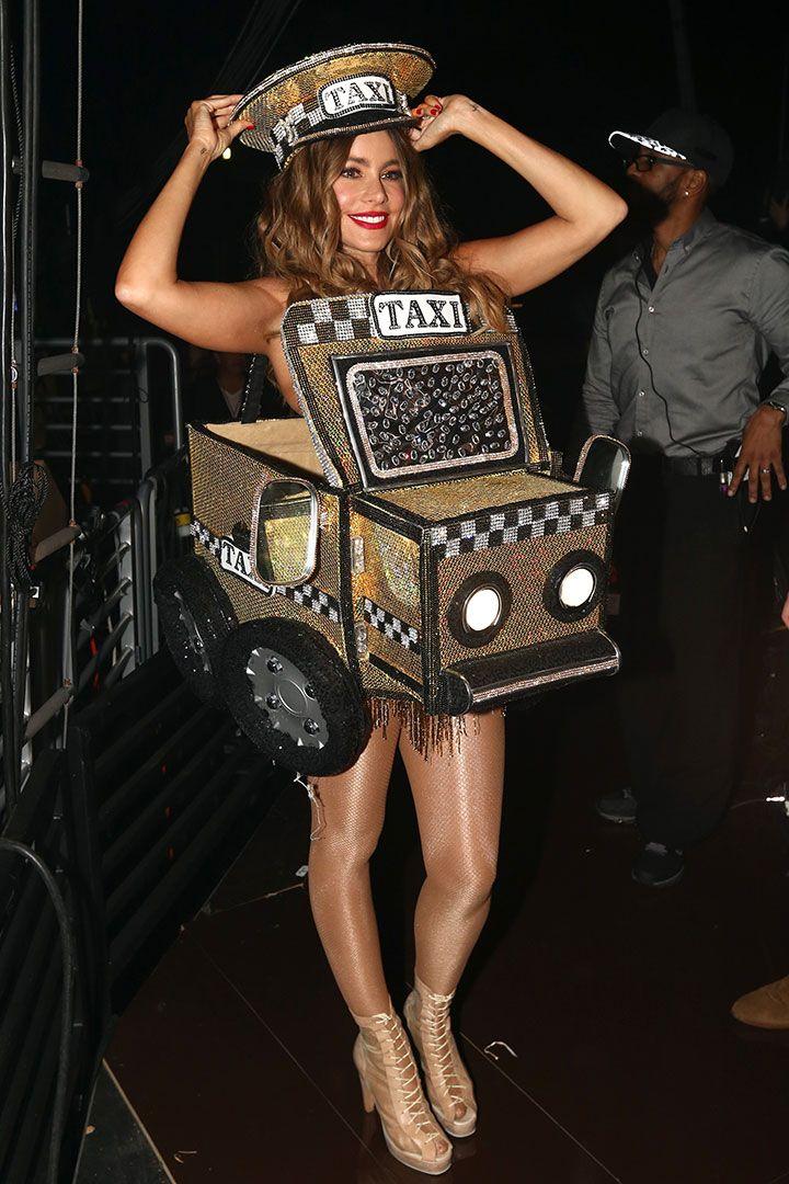 Sofia Vergara es un taxi   Las imágenes más bellas de los Grammy
