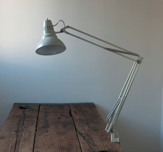 vintage luxo architects lamp by cottagefarm on Etsy, $98.00