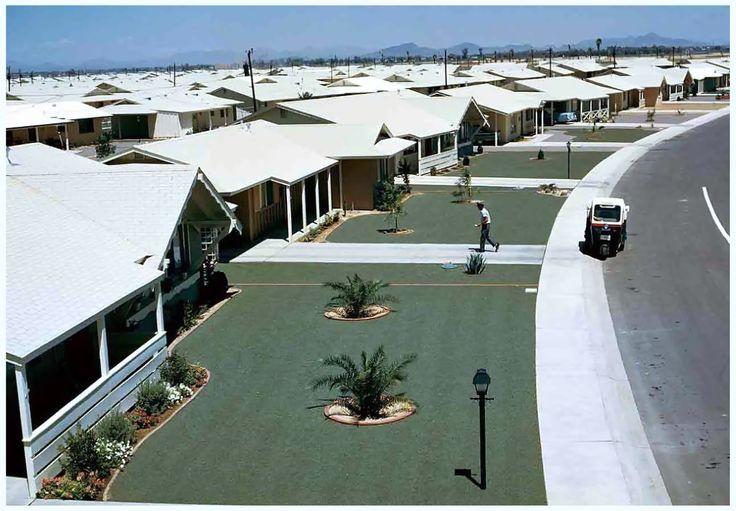 The New Suburbia… Sun City Arizona, 1963