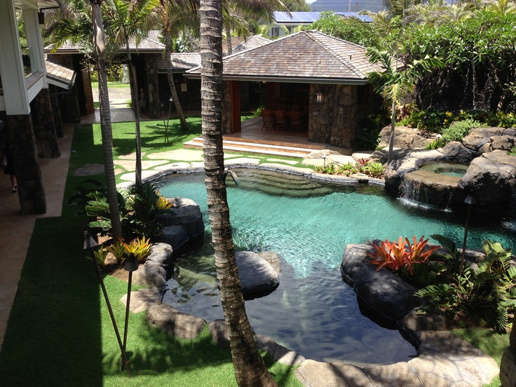 24 9 Million Dollar Home In Kailua Lagoon Style Pool With