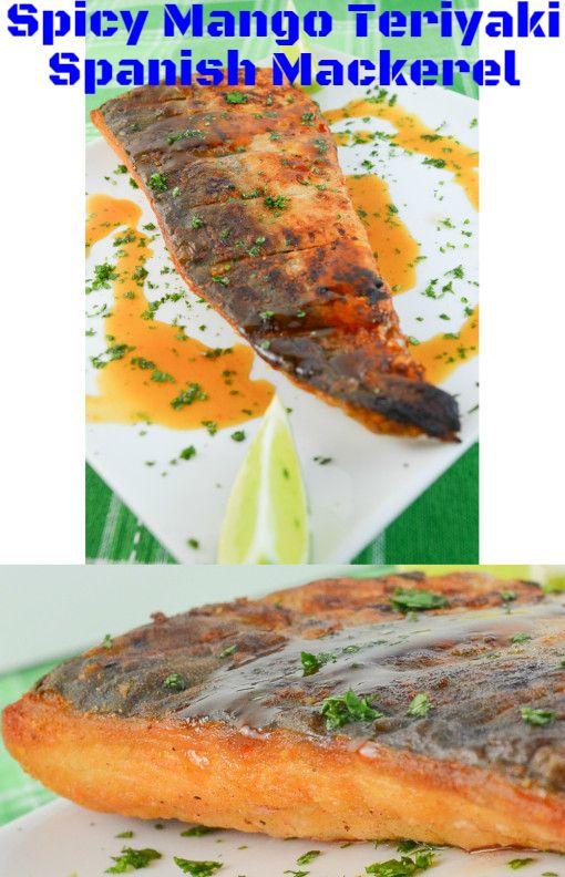 Spanish Mackerel with a spicy mango teriyaki.