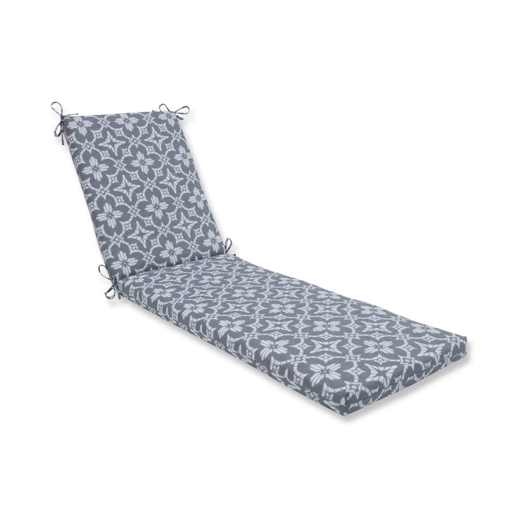 Pillow Perfect Aspidoras Indoor / Outdoor Chaise Lounge Cushion - 611525