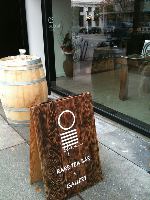 O5 Rare Tea Bar | Vancouver, A Board, Sandwich Board, A Frame