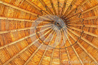 Orange roof of Catholic Mortal Agony of Christ Chapel in Dachau