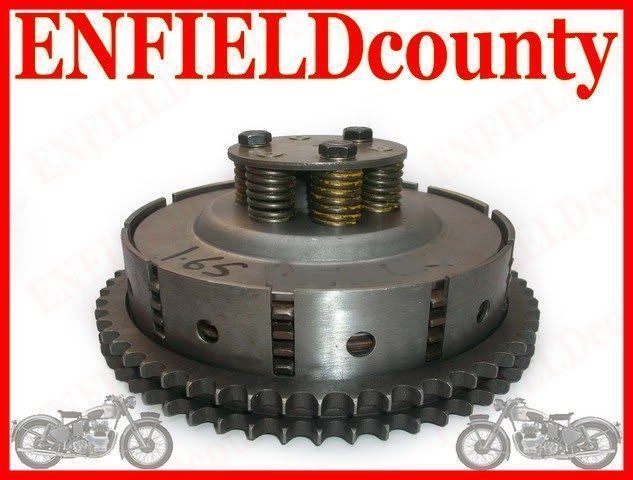 BNB ROYAL ENFIELD BULLET 4 SPEED CLUTCH ASSEMBLY~144495 @ CA