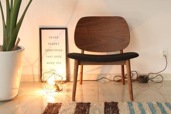 座面&背もたれが広いラウンジチェア WAL イス ソファ 椅子  _画像4