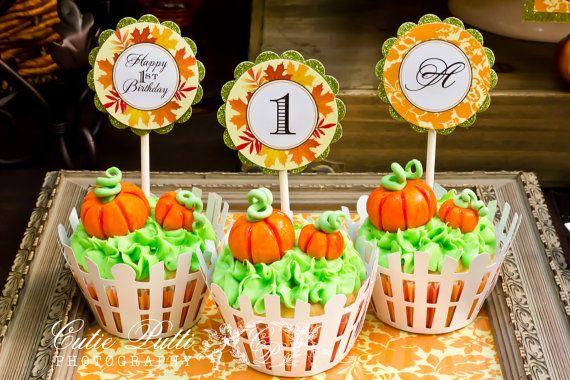 Pumpkin Patch Party Little Pumpkin Party  by CutiePuttiPaperie, $12.00