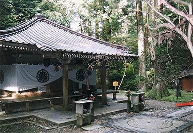 Templo en Kuramayama