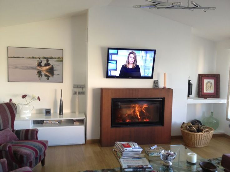 36 best nuestros trabajos images on pinterest gusto fire places and rustic homes - Cassette chimenea segunda mano ...