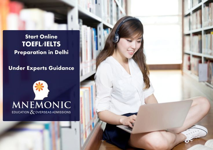 Worried about giving the TOEFL? Mnemonic education provides you with the best TOEFL preparation in Delhi. Our experienced counselors and mentors have devised an almost perfect study plans that have helped attain thousands of students attain a high SAT score and a bright future.