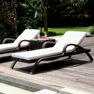 Imperial Lounger with Cushion | Wayfair UK