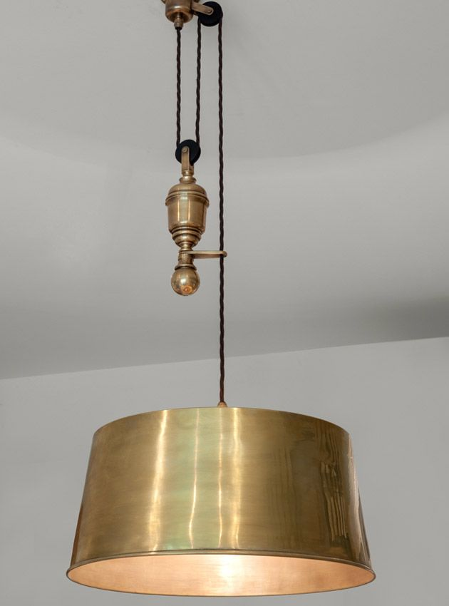 The rise and fall ceiling light