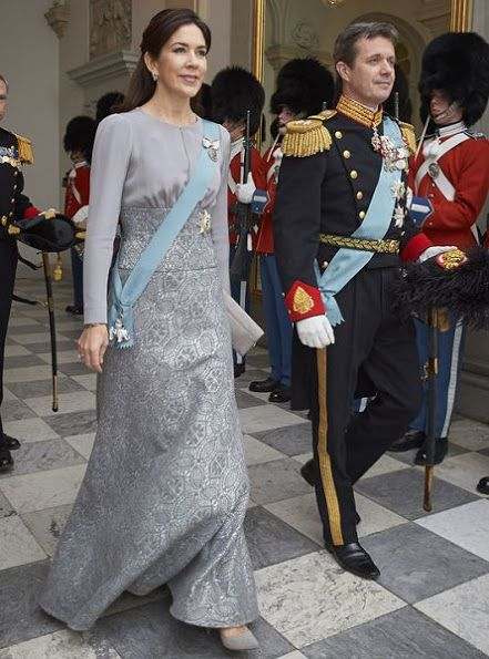 Crown Princess Mary, Crown Prince Frederik, Queen Margrethe