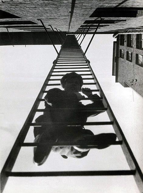 """Rodchenko. """"Escada de incêndio"""", 1925"""