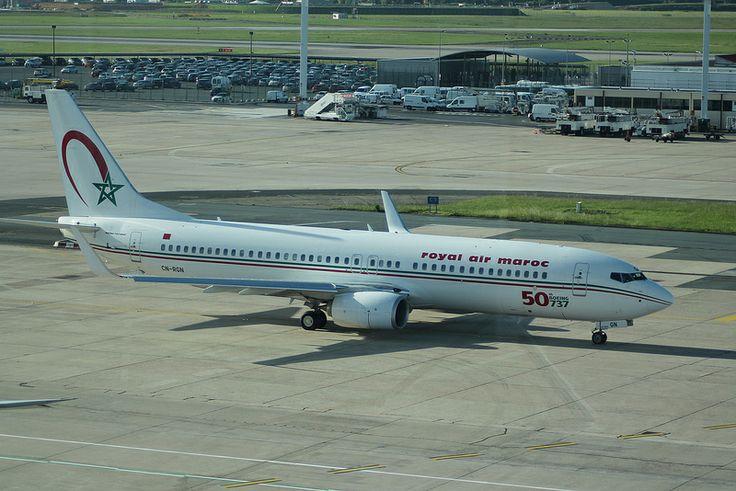 Boeing 737: 33075 CN-RGN 737-8B6(WL) Royal Air Maroc Paris Orly Airport
