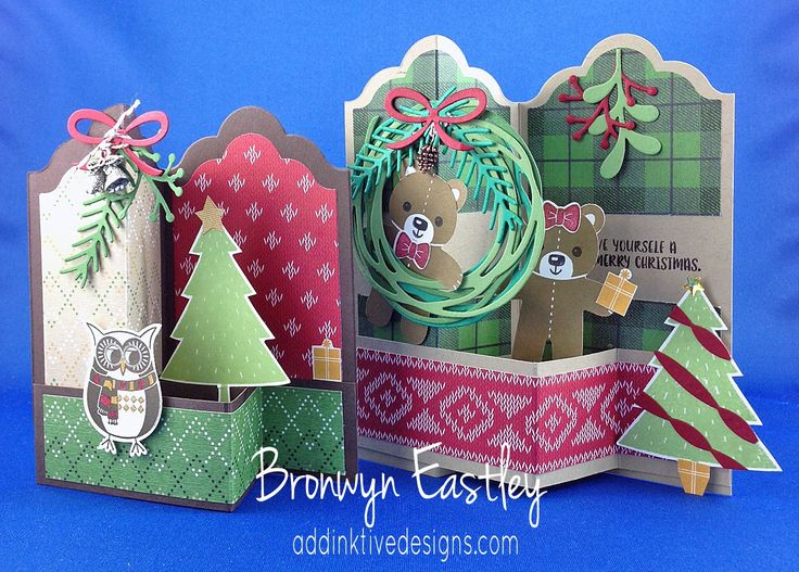 CASEing the Catty, Favourite Holiday Punch Bundle, Cookie Cutter Christmas, Labels Z-Fold, Bronwyn Eastley, Stampin' Up!, #addinktivedesigns Card Tutorials