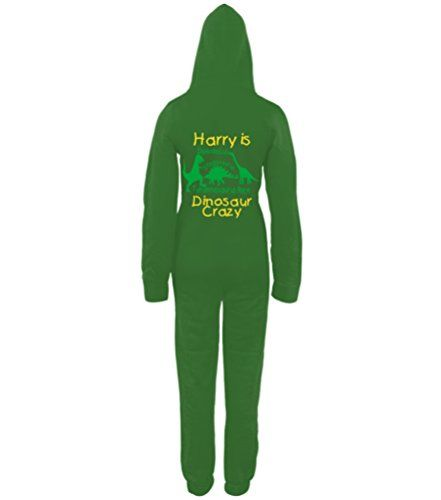 PERSONALISED DINOSAUR CRAZY' with NAME Kelly Green Onesie Edward Sinclair http://www.amazon.co.uk/dp/B00NWD9G70/ref=cm_sw_r_pi_dp_mswhvb02THV1E