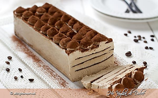 Mattonella gelato al caffè, ricetta facile