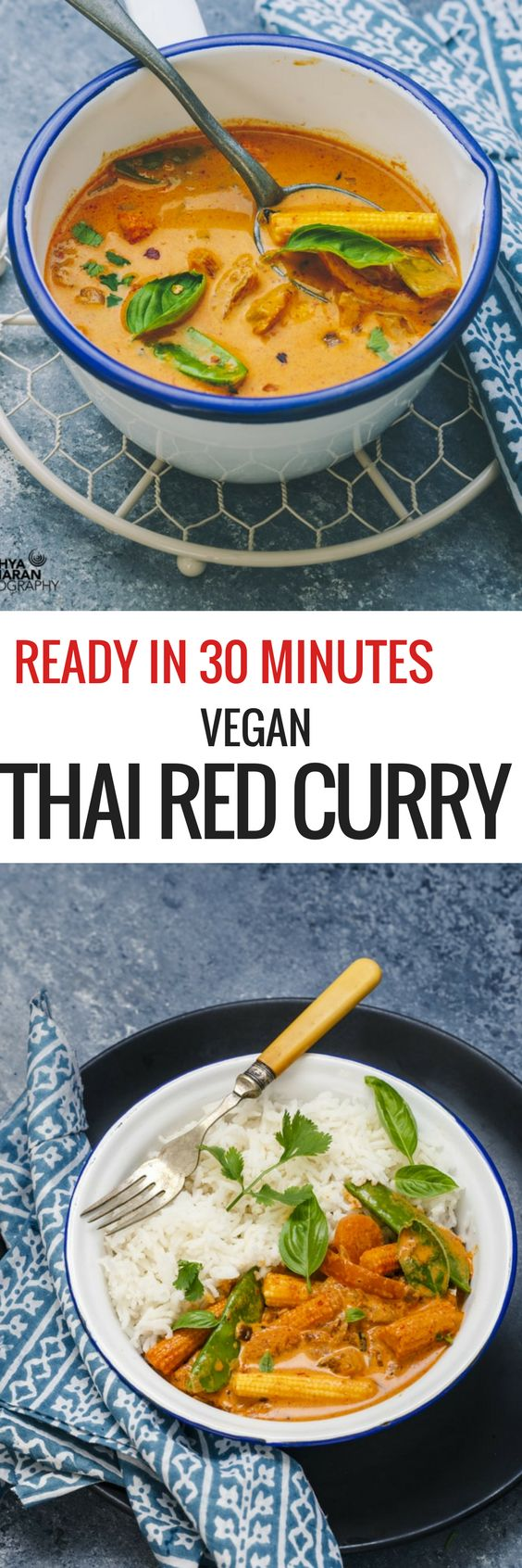 30 MINUTES VEGAN THAI RED CURRY ! #vegan #thai #redcurry #curry