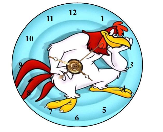 54 best CD Clock Cartoon Characters images on Pinterest  Cartoon