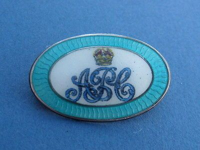 Ww1 transluscent #enamel & silver army pay #corps #sweetheart brooch badge pin,  View more on the LINK: 	http://www.zeppy.io/product/gb/2/172494596876/