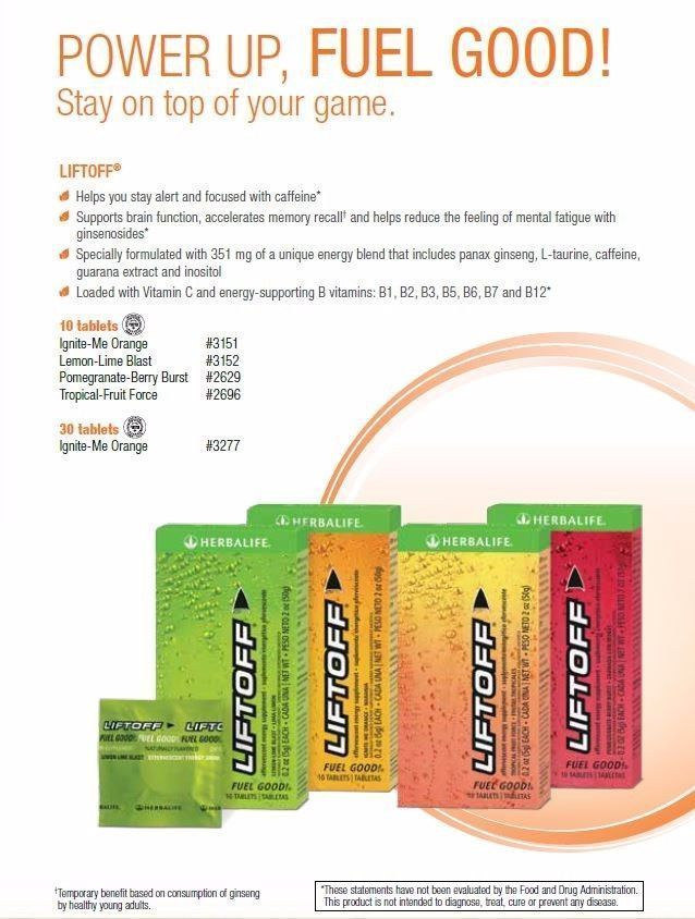 Endurance And Energy Bars Drinks And Pills 1278: Herbalife