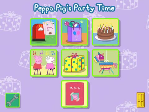 Let Your Preschooler Plan Their Own Peppa Pig Party With The New Peppa Pig's Party Time App! + FREE Peppa Pig Party Printables! - Must Have Mom