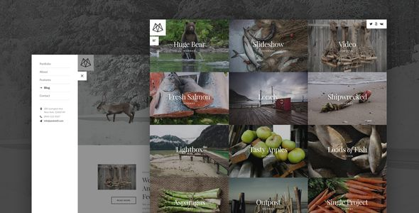 Peekskill – Mobile-First Portfolio for Creatives - Portfolio Creative