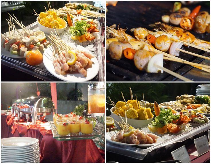 BBQ tonite, choose and eat as much as you want 😊 #J4hotelslegian #J4hotels #LifestyleHotel #Lifestyle #HotelBali #Holiday #InstaTravel #Vacation #LegianBali #Wanderlust #Destination #LegianStreet #RoofTopPool #RoofTopSwimmingPool #Bali #Indonesia #HappyHour #Traveler #Backpacker #Desserts #LegianHotel #HotelLegianBali #RoofTopRestaurant #BBQ #Barbecue #Unlimited #Yum #EatWell