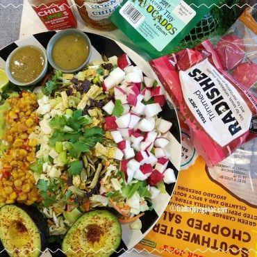 トレジョのサラダキット Trader Joe's Southwestern Chopped Salad $2.99 | #トレジョ #トレーダージョーズ #サラダキット #サラダ #TraderJoes #Southwestern  #Salad