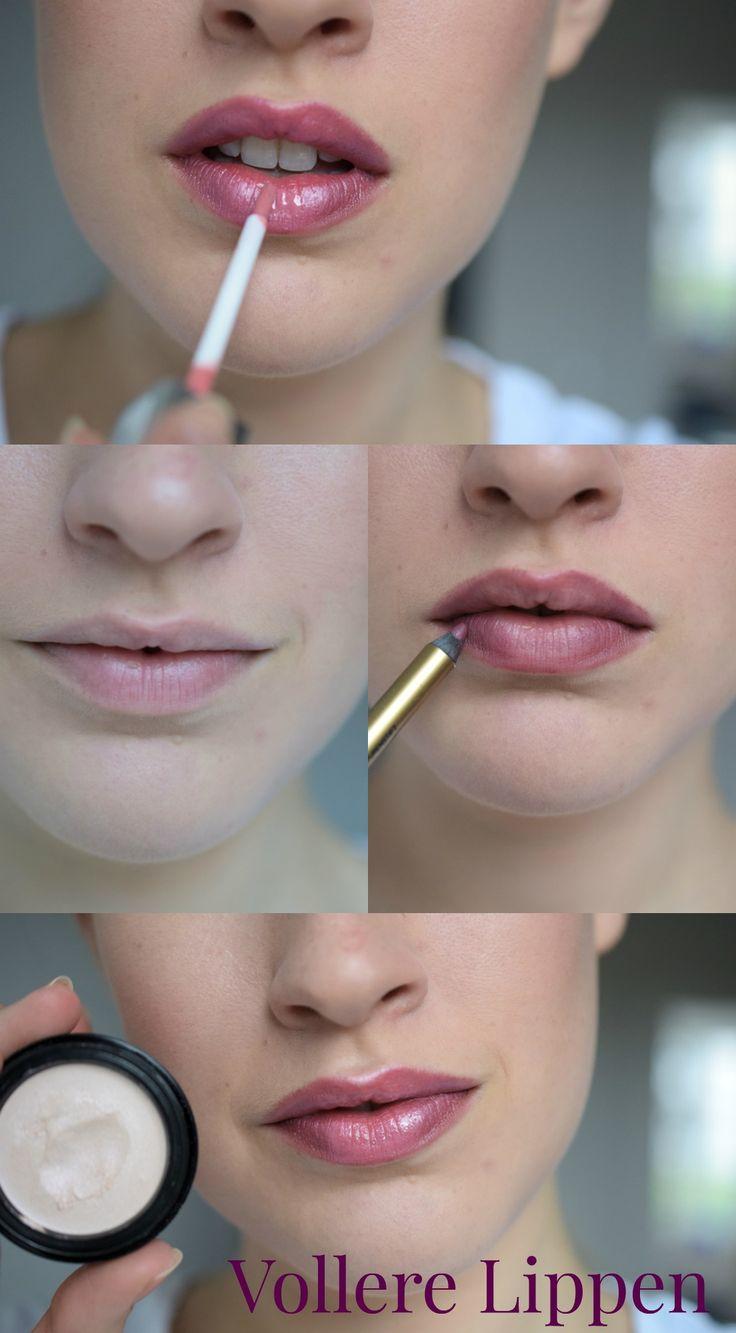 So schminkst du vollere Lippen ☆ Für volle, voluminöse Lippen brauchst du nur 4 Produkte. Schon wirken deine Lippen voll und voluminös. Ein Makeup Tutorial für wunderschöne, große Lippen.