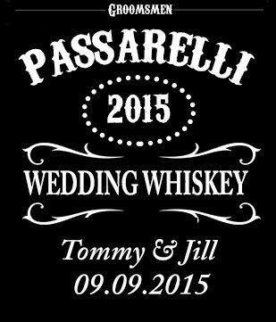 A personal favorite from my Etsy shop https://www.etsy.com/listing/222023505/whiskey-bottle-label-2-labels-per-order