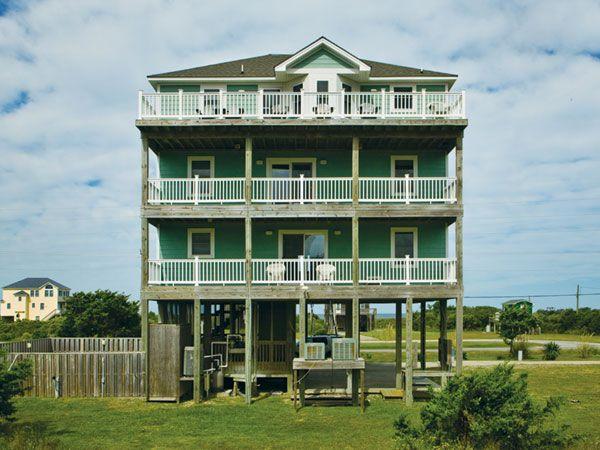 52 best cape hatteras cottages images on pinterest cape for Hatteras cabins rentals