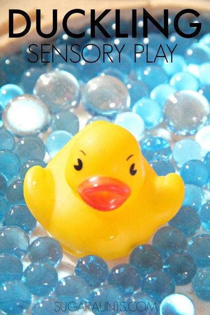 Make Way for Ducklings book sensory play activity