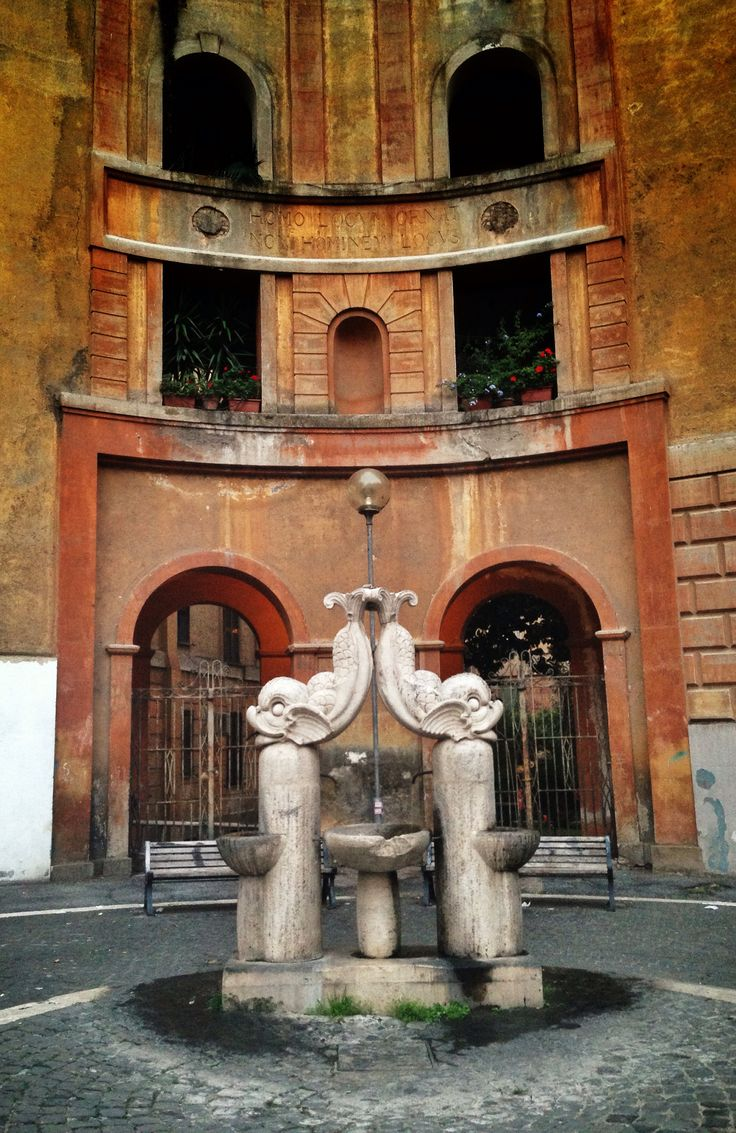 Complesso ICP FLAMINIO II_Piazza Perin del vaga, Flaminio_A. Limongelli, G. Wittinch, T. Bruner e M. De Renzi_1926   http://www.roma2pass.it/mod/page/view.php?id=659