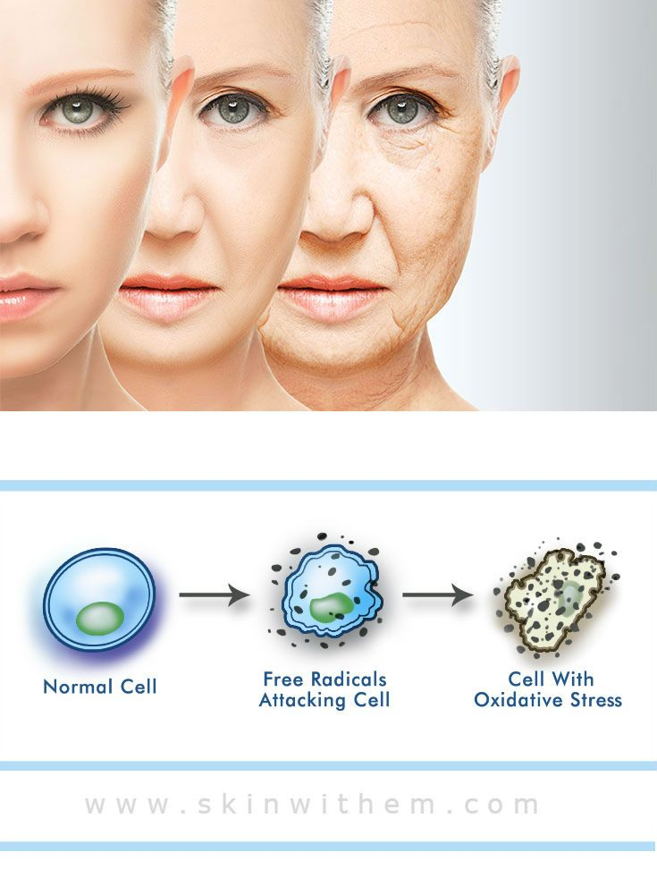 Anti-Oxidation, Start Young, Stay Beautiful! The aging ...