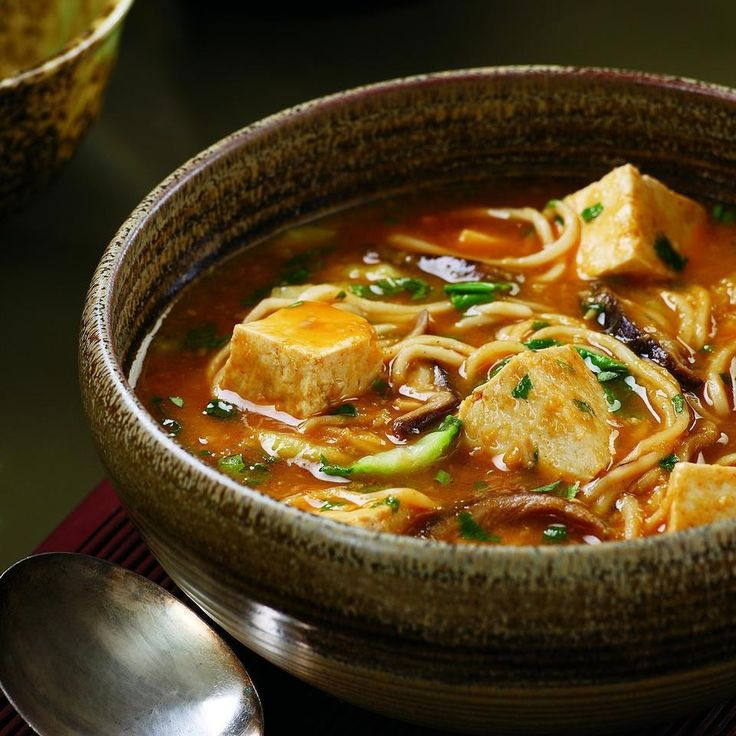Spicy Tofu Hotpot-Serving size: 1½ cups Per serving: 214 calories 5 g fat(1 g sat); 4 g fiber; 31 g carbohydrates; 12 g protein; 154 mcg folate; 28 mg cholesterol; 5 g sugars; 2 g added sugars; 2193 IU vitamin A; 23 mg vitamin C; 198 mg calcium; 3 mg iron; 854 mg sodium; 389 mg potassium Nutrition Bonus: Vitamin A (44% daily value), Folate (38% dv), Vitamin C (38% dv), Calcium (20% dv) Carbohydrate Servings: 2