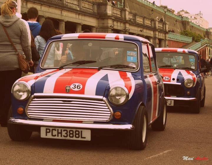 union jacks mini Britchicks future car!