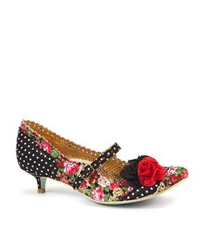 Irregular Choice Multi Coloured Daisy Dayz Corsage Court Shoe | 275467799 | New Look