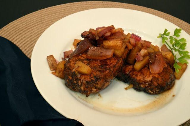 Balsamic Pineapple Boneless Pork Chops - Savory Experiments