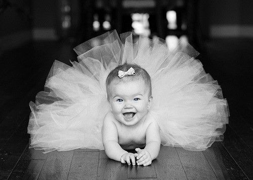 What a cute idea for a baby girl's portrait! Down the road, I would imagine that @Abbie Lesher, could probably use this pose for a certain little gal who was born today!