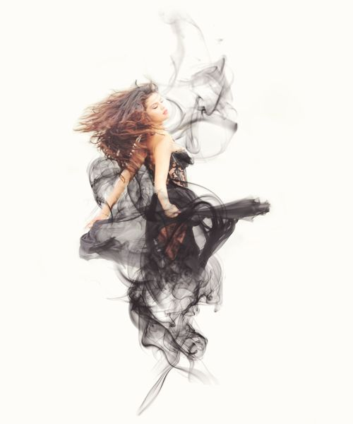 black smoke, come and get it, cute, dress, edit, fashion, girl, graphic, manip, manipulation, selena gomez, smoke, tumblr, come & get it, marie gomez, من الحياه نحن